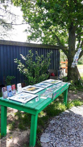 Eine Auswahl unserer Aquarell bei Kunst Offen in der Alten Büdnerei Kühlungsborn (c) Frank Koebsch (3)