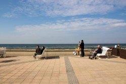 Freies Malen am Strand von Kühlungsborn im Rahmen des Plein Air Festivals (c) FRank Koebach (13)