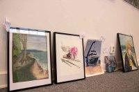 Schnappschüsse vom Hängen der Ausstellung des Plein Air Festival in der Kunsthalle Kühlunsborn (c) FRank Koebsch (7)