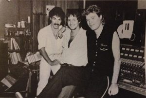 Daryl Hall John Oates and Neil Kernon 1981 Electric lady NY