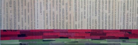 """Examples of What's Acceptable and What's Not,"" 8"" x 24"", $580"