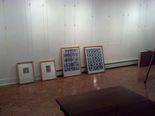 Early works will be among more current works.