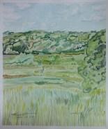 """""""Wadewitz,"""" Watercolor on Paper, $100"""