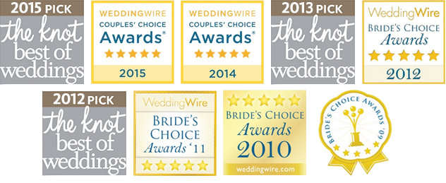 the knot & Wedding Wire Awards