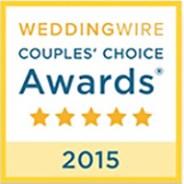 WeddingWire Couples' Choice 2015!