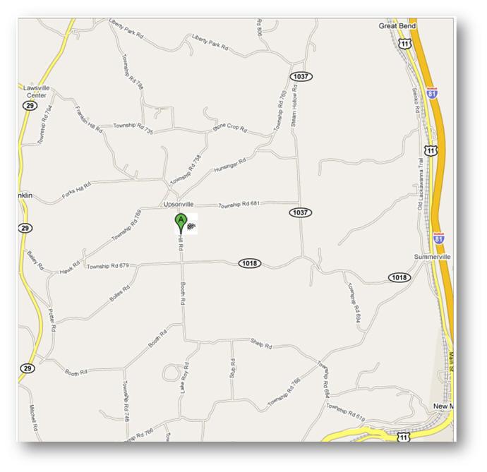 Directions « Franklin Hill Presbyterian Church