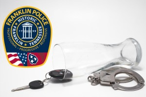 Beer, Keys and Handcuffs - Drunk Driving Concept