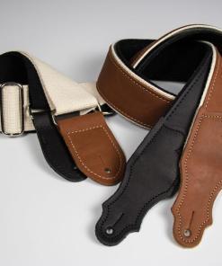Hybrid Glove Leather Guitar Strap