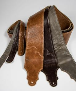 Jackson Hole Aged Leather Guitar Strap