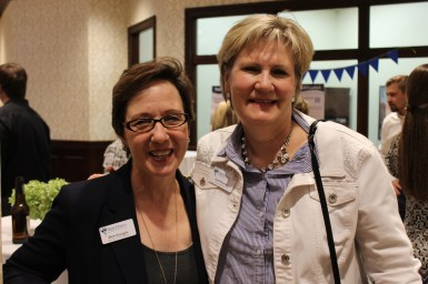 Deb Enright and Gail Powell