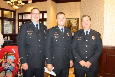 Franklin Fire Charities nominees (L-R) Jeremiah Rogers, Jeff Boggs and Rob Thomas