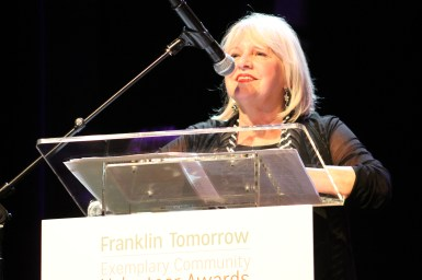 Mary Pearce, recipient of the Business Legacy Award