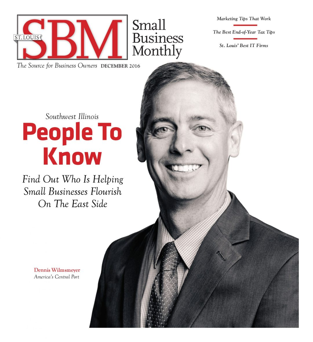 Small Business Monthly December 2016 Cover