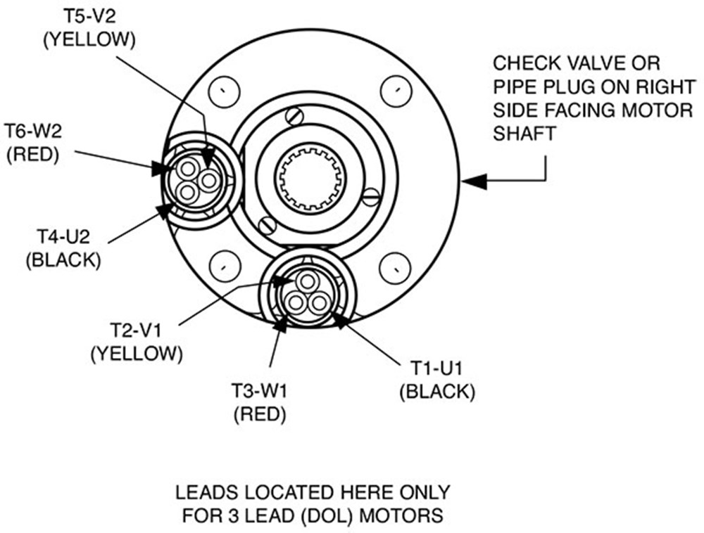 3 Phase Motor Wiring Diagram 6 Wire For Your Needs