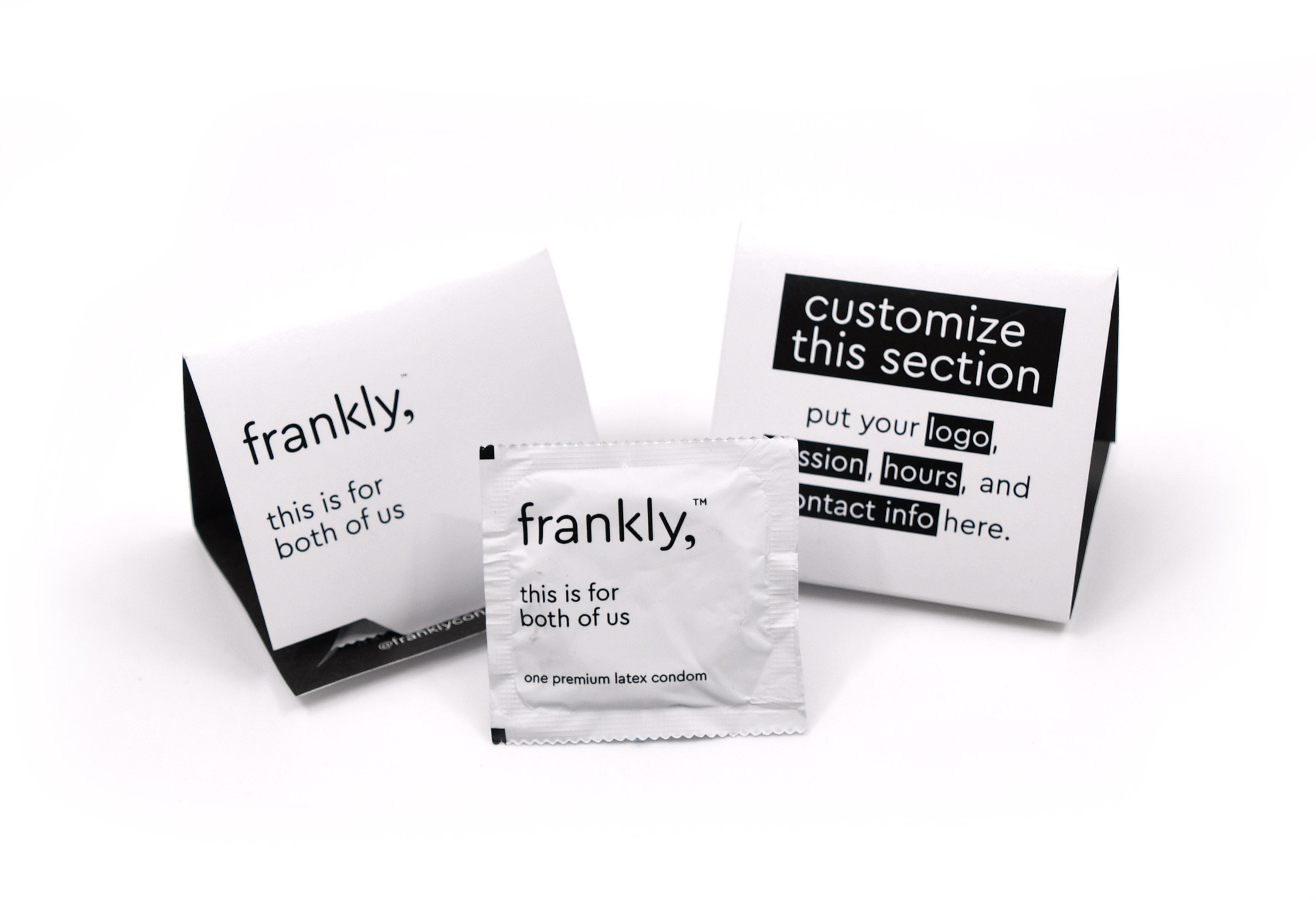 frankly, trifold condom