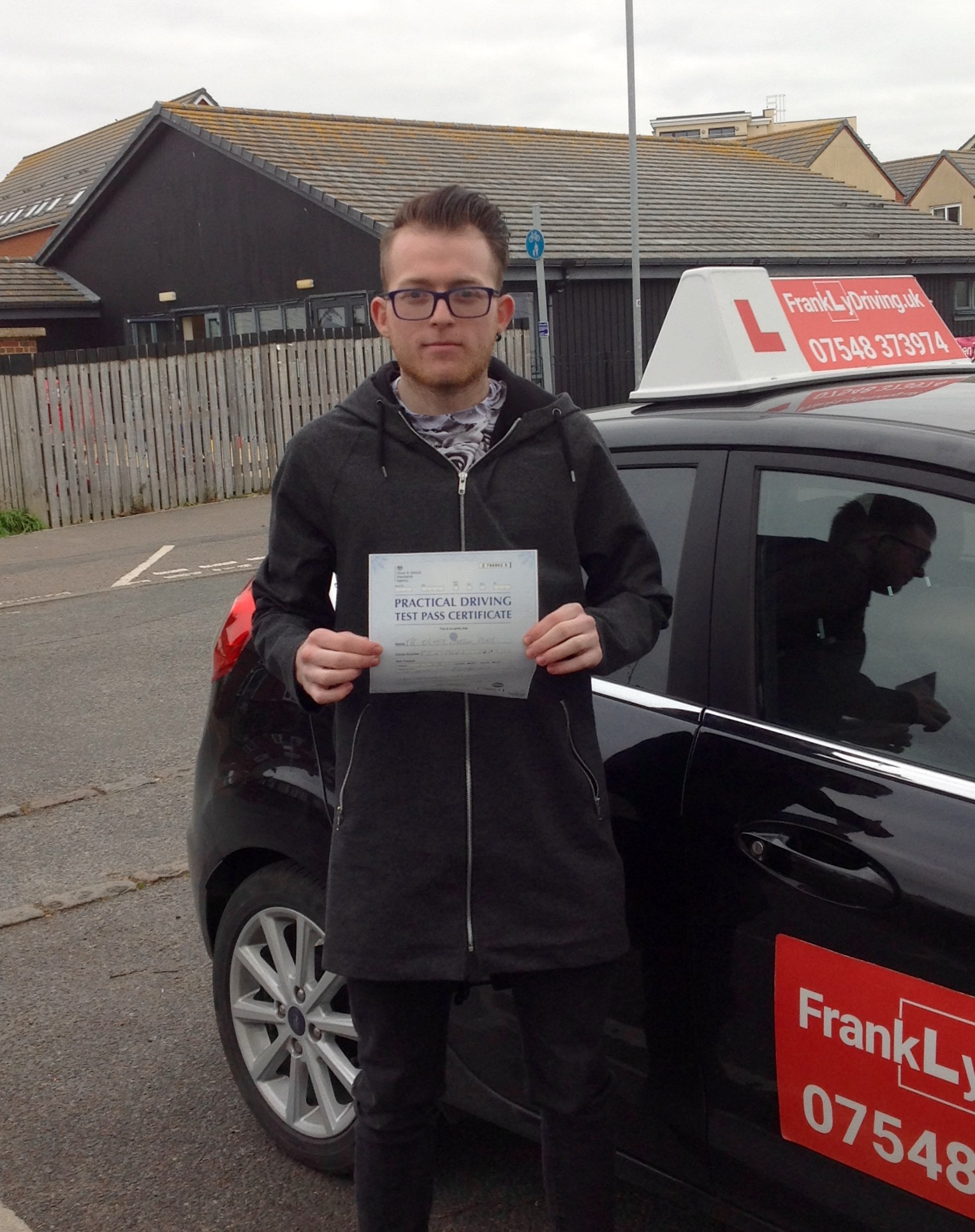 Congratulation Ollie on Passing the New Driving Test