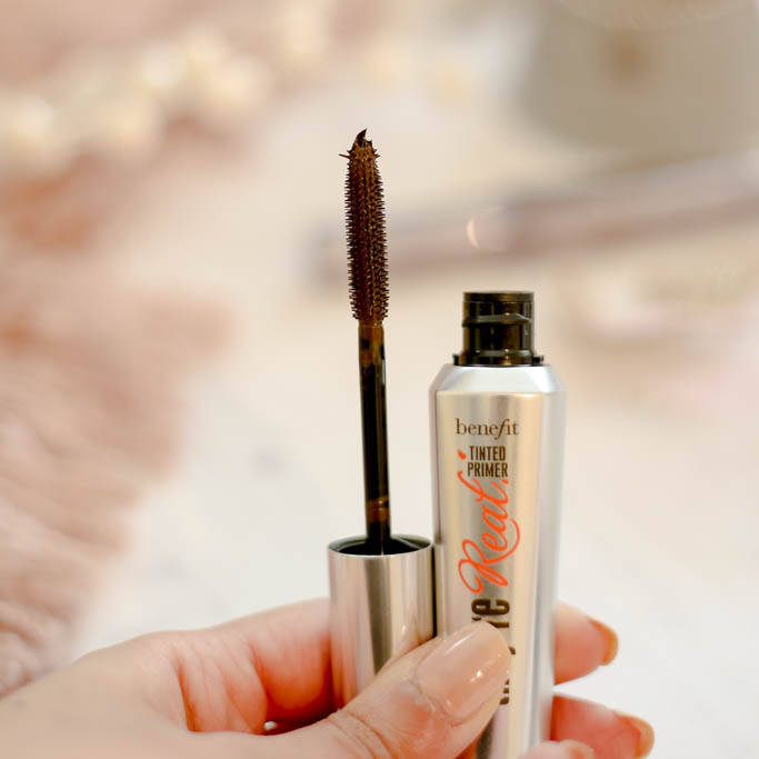 Benefit products   primer swatch