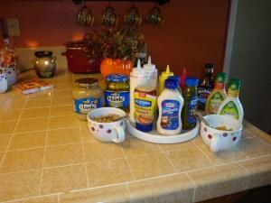 Condiments Galore!