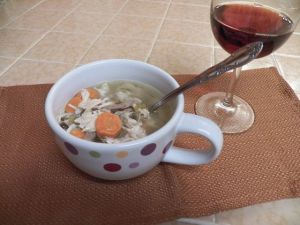 Frankly, My Dear . . . : Chicken Soup With Rice