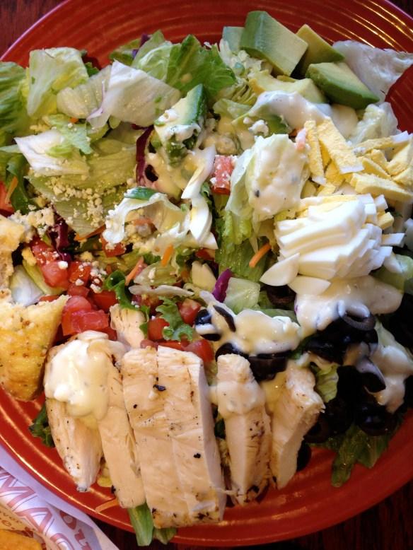 Avacado and Chicken Salad at Red Robin