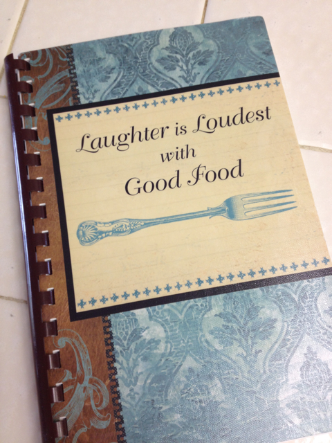 Laughter is Loudest with Good Food Cookbook, compiled by Lindsay Reine