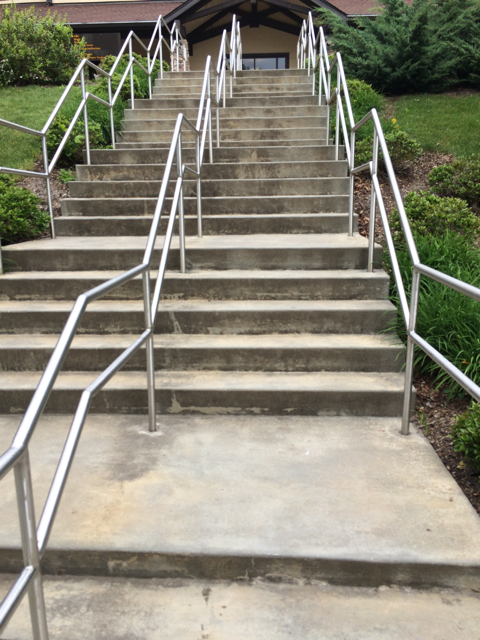 Those Daunting Steps at #BRMCWC