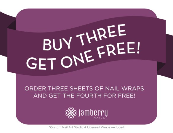 Jamberry Buy 3 Get 1 Free!