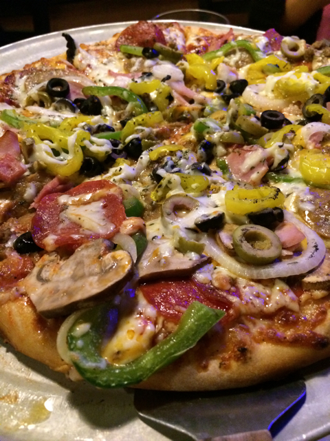 The Biltmore Pizza, Asheville Brewing Co.