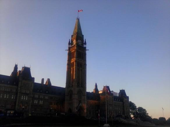 William Kendall, Photoblogger: Centre Block, Parliament Hill