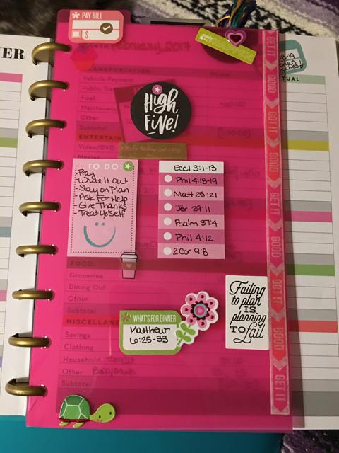 Frankly, My Dear . . . Happy Planner Budget Dashboard