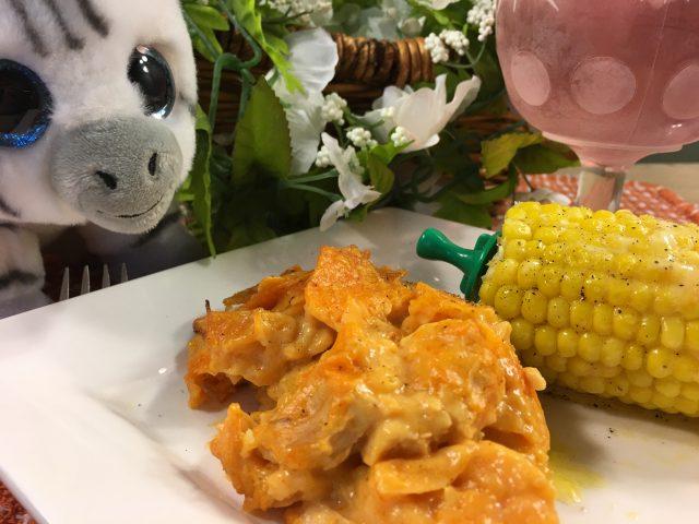 Frankly, My Dear . . .: Buffalo Chicken Potato Chip Casserole