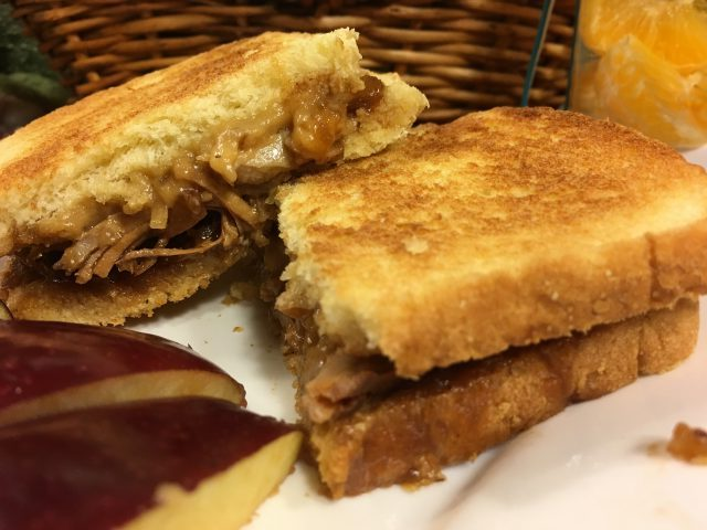Frankly, My Dear . . . : Toasted MoJo Melt Sandwich