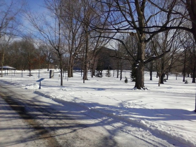 Winter at Rideau Hall, photoblogger William Kendall
