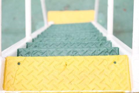 basic photo: metal steps