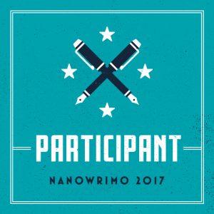 NaNoWriMo Participant, 2017