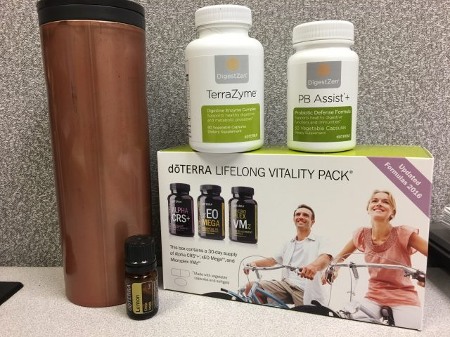 Frankly, My Dear . . . : DoTERRA Lifelong Vitality Pack