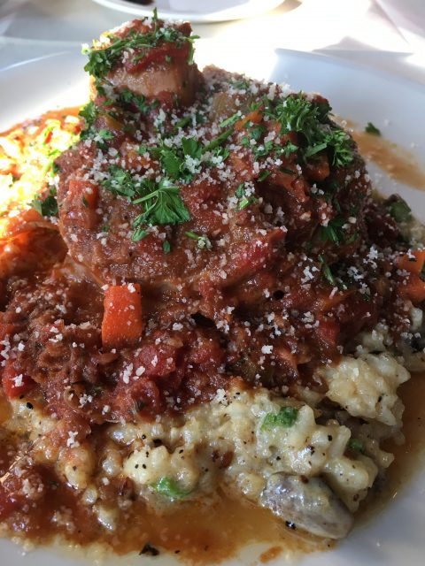 Frankly, My Dear . . . : Osso Buco from Bella Trattoria, Mission Inn, Riverside