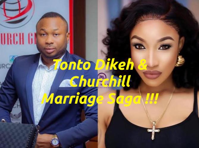 Tonto Dikeh & Churchill Marriage Saga | Toke Makinwa Did Better