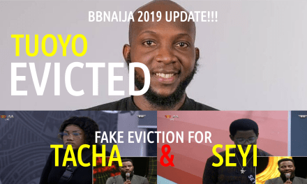 3rd Eviction Update – Tuoyo Evicted