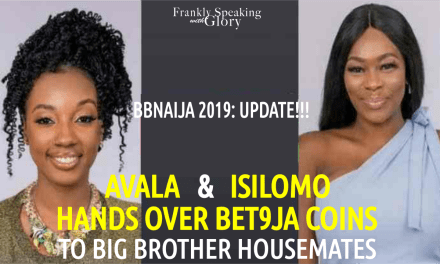 BBNaija 2019 Live Update: AVALA & ISILOMO Gives Bet9ja Coins to BBNaija Housemates