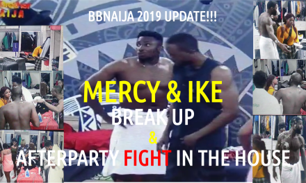 BBNaija 2019 Update | After Party Fight in the House