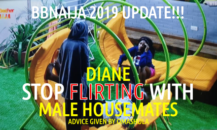 Diane! STOP Flirting with MALE HOUSEMATES advice by OMASHOLA!
