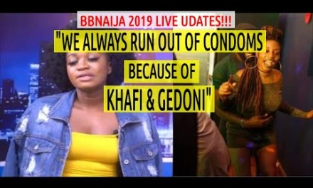 BBNaija 2019 LIVE UPDATES | Thelma SAYS KHAFI & GEDONI HAVE SEX EVERY NIGHT | Omashola Frodd SETTLE