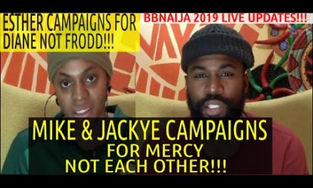 MIKE AND JACKYE CAMPAIGN FOR MERCY NOT EACH OTHER