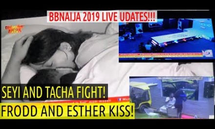 BBNaija FRODD and ESTHER | BBNaija 2019 LIVE UPDATES | HOUSEMATES OPPO RUNWAY TASK | SEYI & TACHA FIGHT