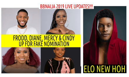 BBNaija 2019 LIVE UPDATES | FAKE LIVE NOMINATION | ELO NEW HOH | FRODD BEGS FOR DIANE COINS TO BUY IMMUNITY