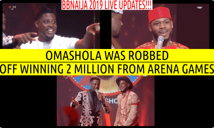 BBNaija 2019 LIVE UPDATES |  OMASHOLA WAS ROBBED OFF WINNING 2 MILLION FROM ARENA GAMES | MERCY CONFESSES LOVE FOR IKE
