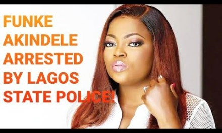 FUNKE AKINDELE ARRESTED BY LAGOS STATE POLICE FOR VIOLATING RESTRICTION ORDERS