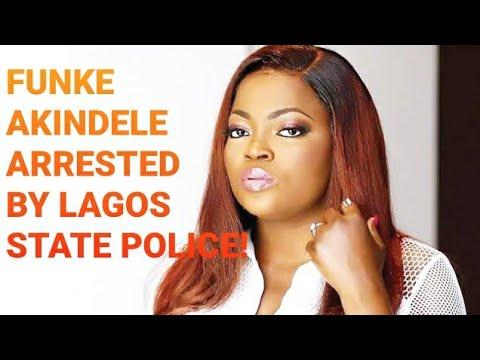 FUNKE AKINDELE ARRESTED BY LAGOS STATE POLICE FOR VIOLATING RESTRICTION ORDERS