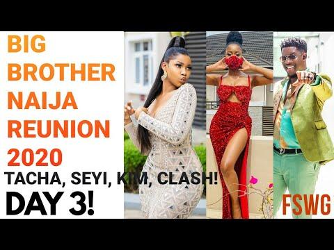 BBNaija Reunion 2020 – DAY 3 | TACHA & KIMOPRAH HAVE IT OUT!